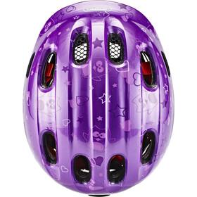 ABUS Smiley 2.0 Helmet Barn purple star